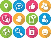 Iconset - flat - Social Media 01