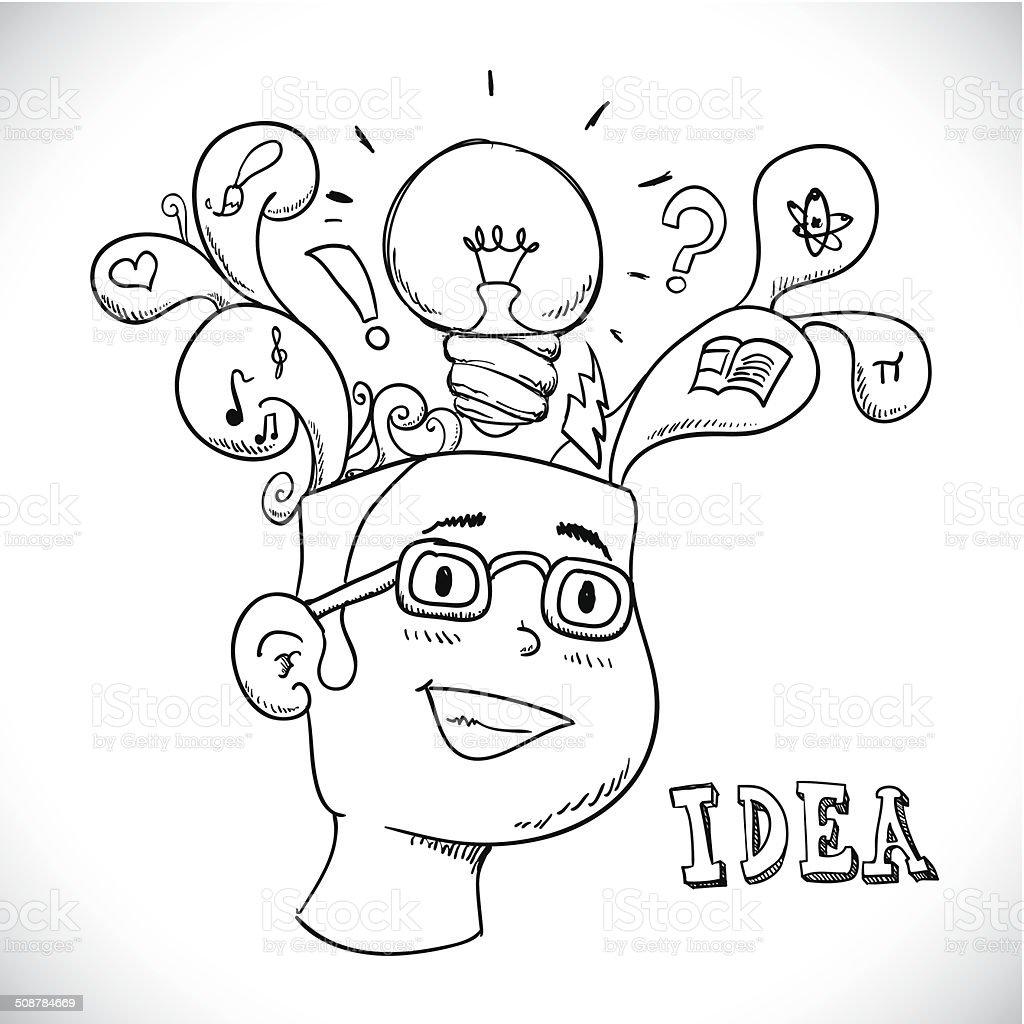 idea design royalty-free stock vector art