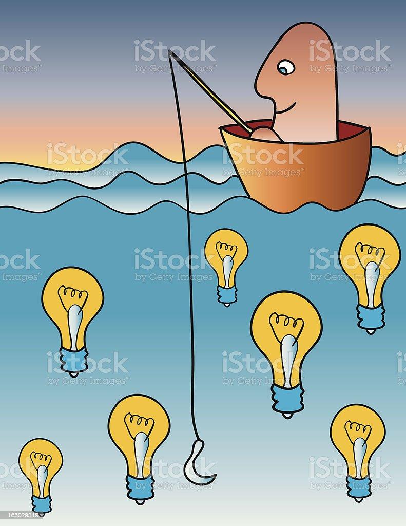 idea search royalty-free stock vector art