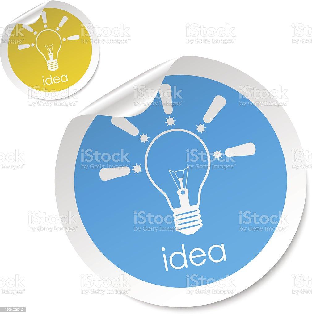 idea stick royalty-free stock vector art