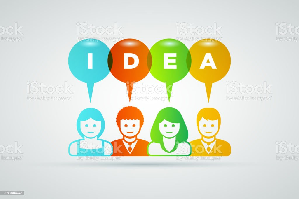 Idea royalty-free stock vector art
