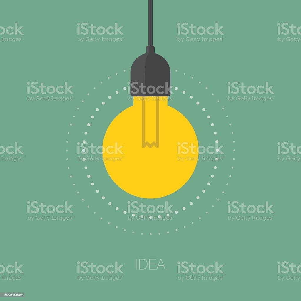 Idea vector art illustration