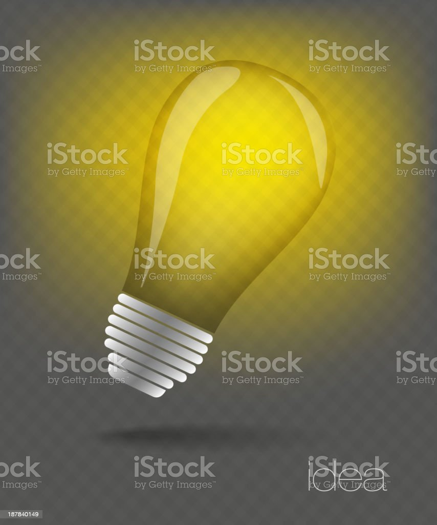 idea web icon royalty-free stock vector art