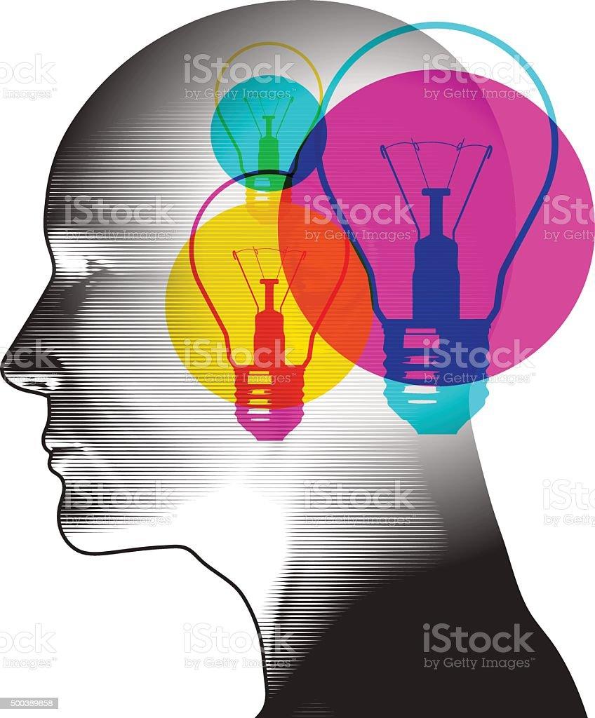 Ideas Potential vector art illustration