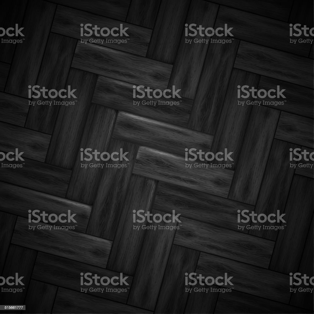 Illustrated wood parquet texture. vector art illustration