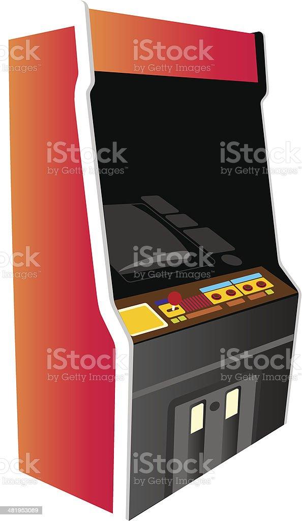 Illustration - Arcade Machine royalty-free stock vector art