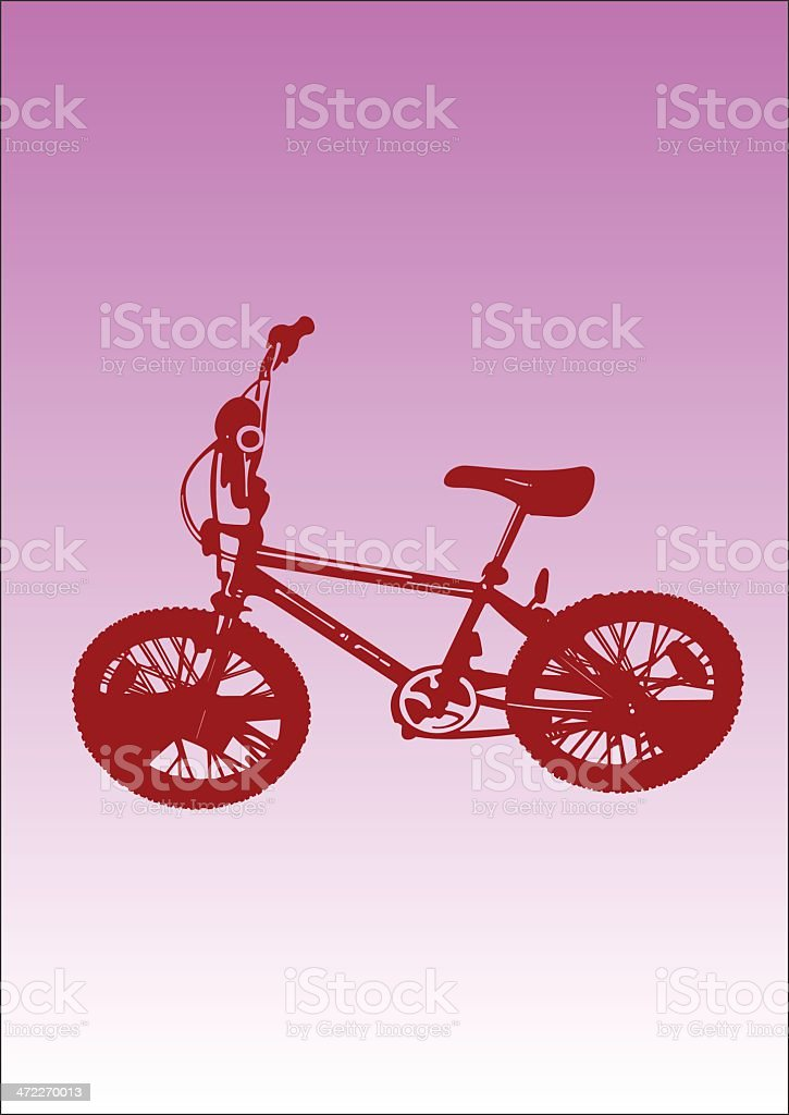 illustration - BMX royalty-free stock vector art