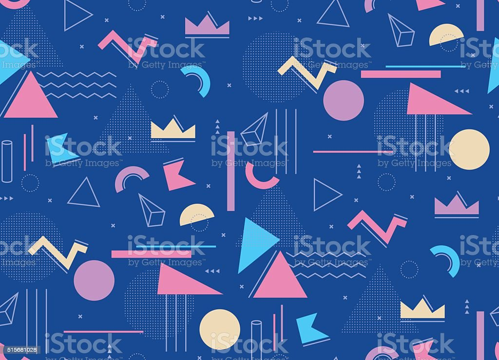 Illustration for hipsters style. vector art illustration