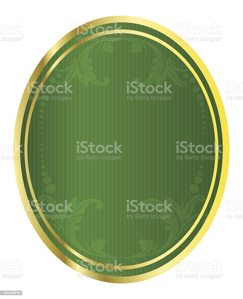 Illustration of a beer tag royalty-free stock vector art
