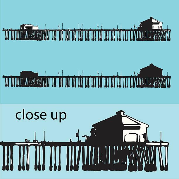Fishing Dock Clip Art, Vector Images & Illustrations - iStock