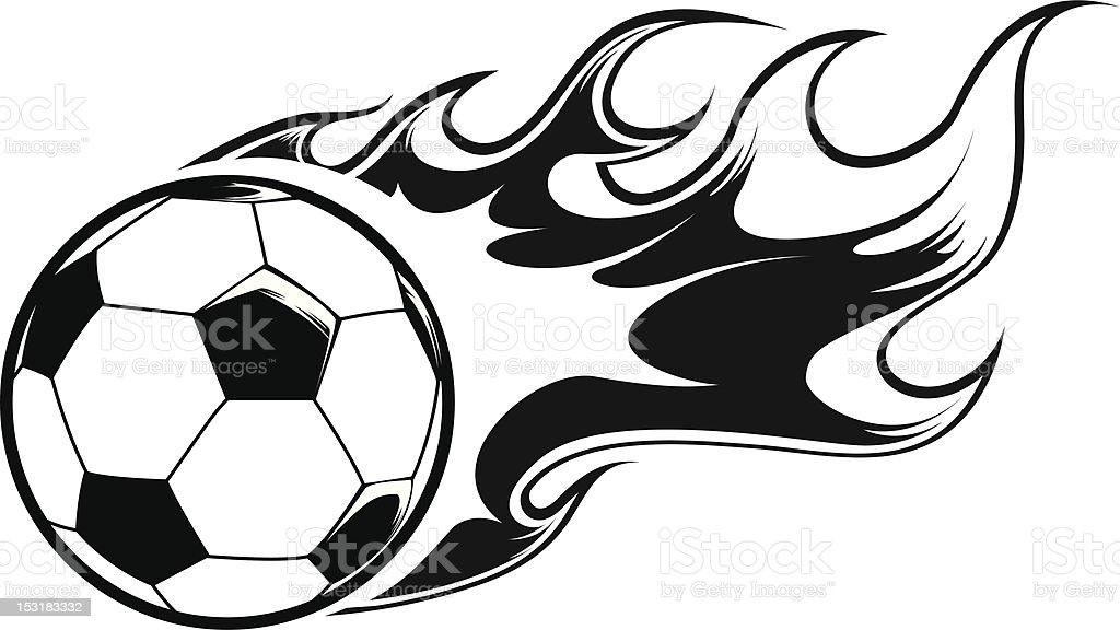 Ler Ballon Football Vecteur Libres Droits