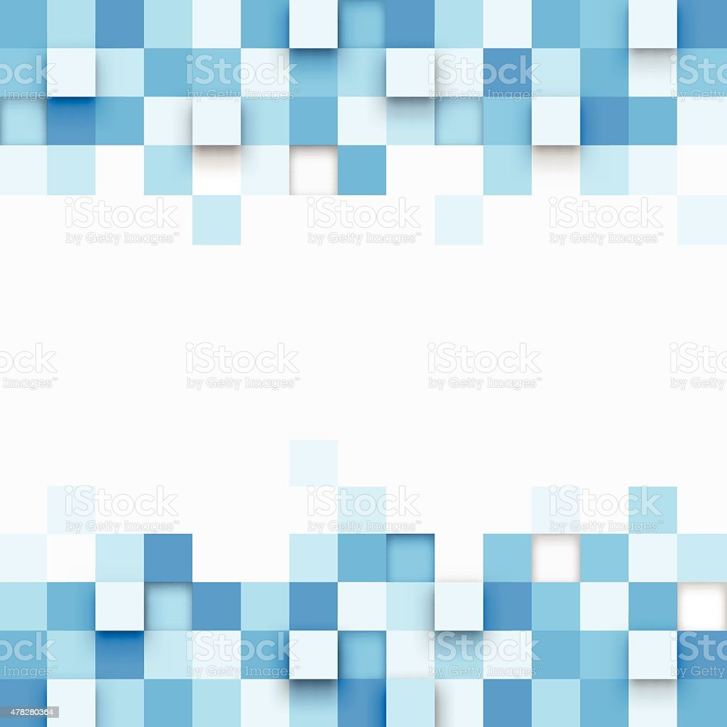 Illustration of abstract texture with squares vector art illustration