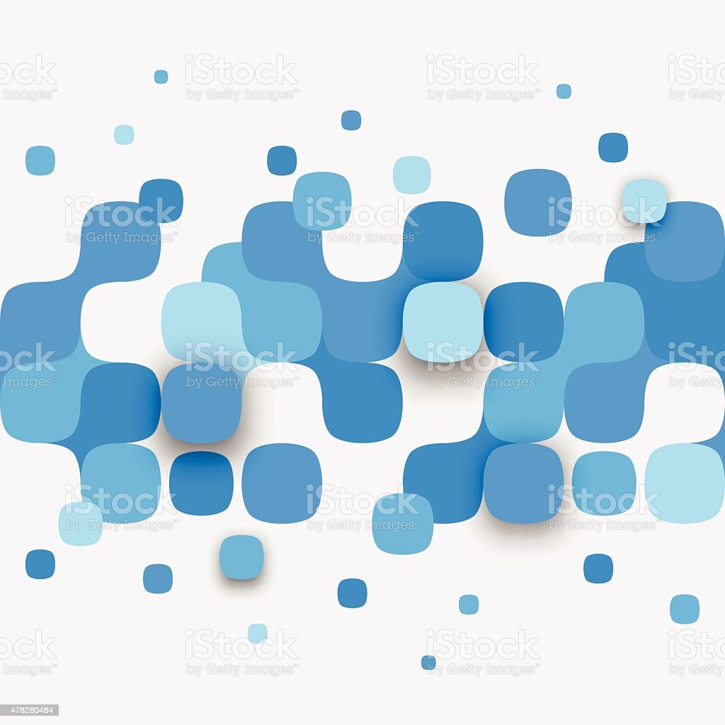Illustration of abstract texture with squares royalty-free stock vector art