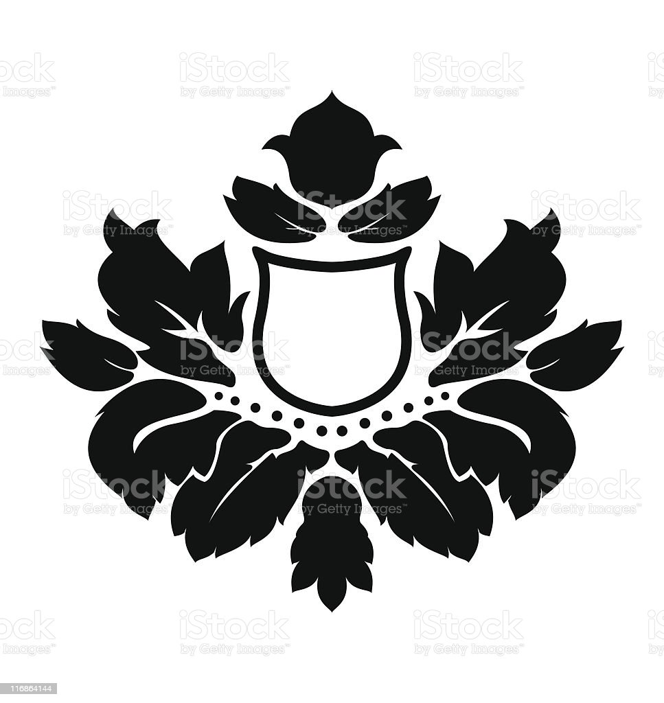Illustration of an abstract flower royalty-free stock vector art