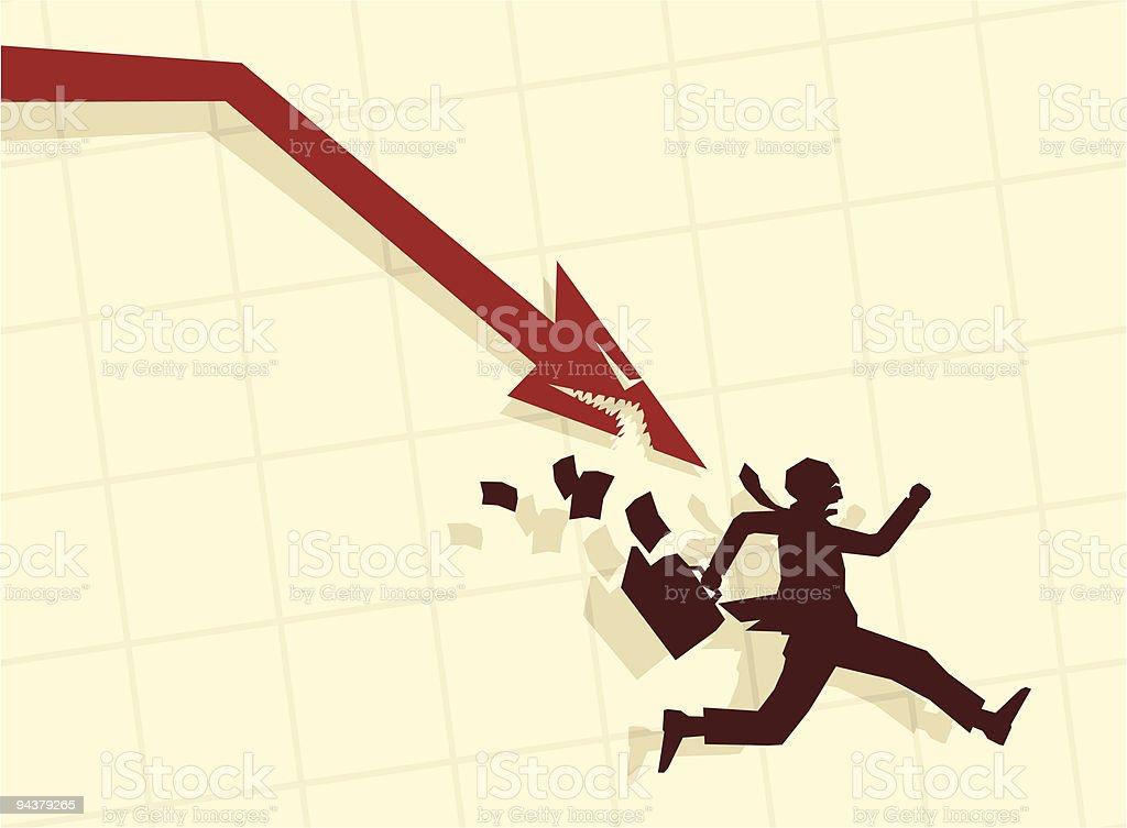 Illustration of businessman royalty-free stock vector art