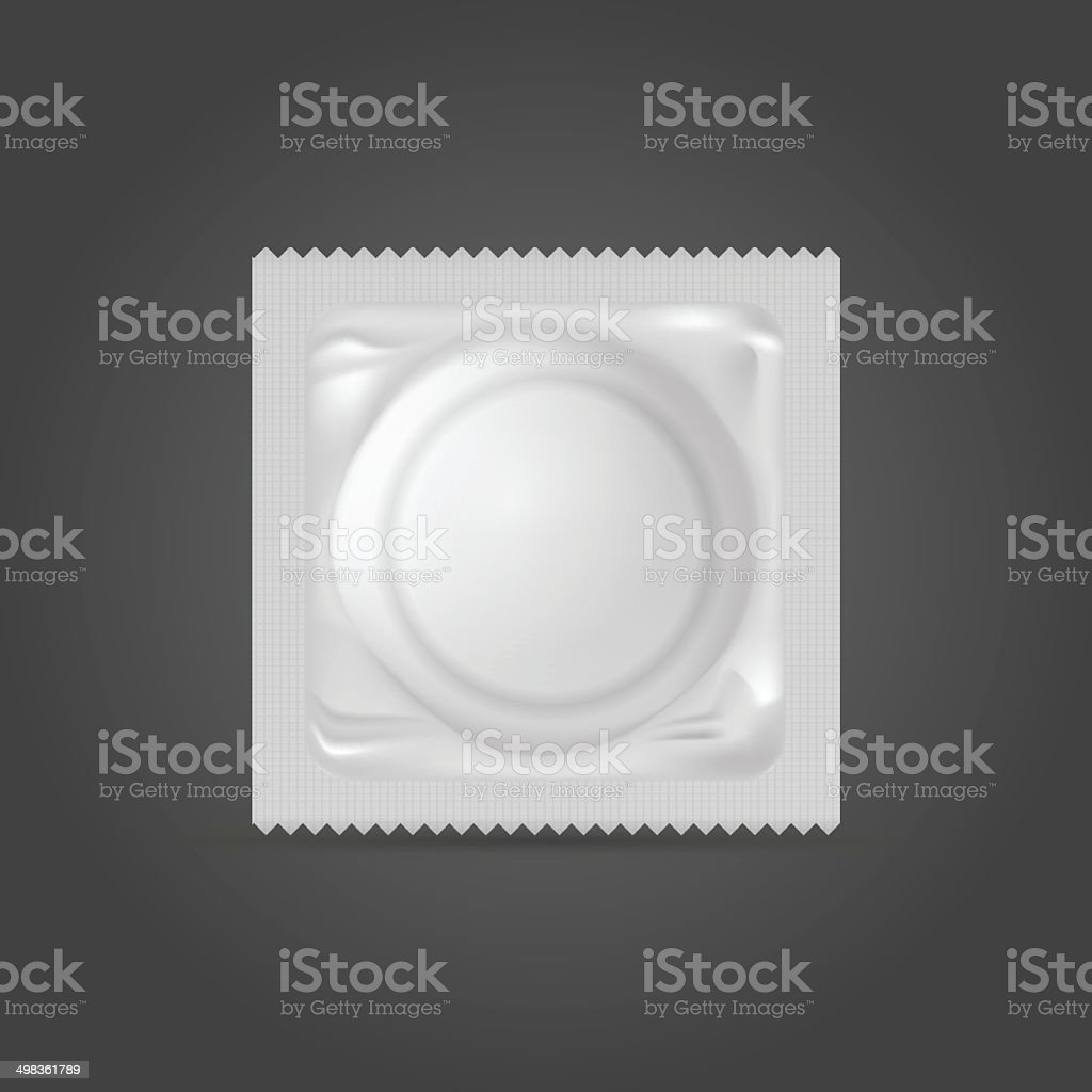 Illustration of condom vector art illustration