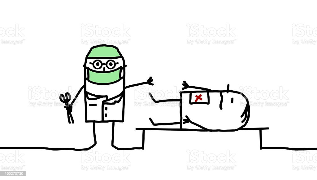 clip art of performong surgery doctor  u2013 cliparts