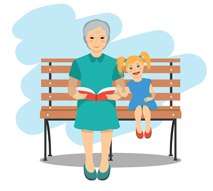Granddaughter Clip Art, Vector Images & Illustrations - iStock