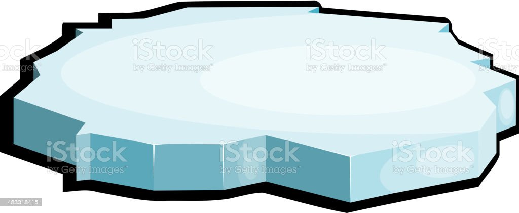 Illustration of ice. eps10 royalty-free stock vector art