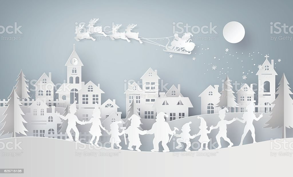Illustration of  merry christmas and happy new year vector art illustration