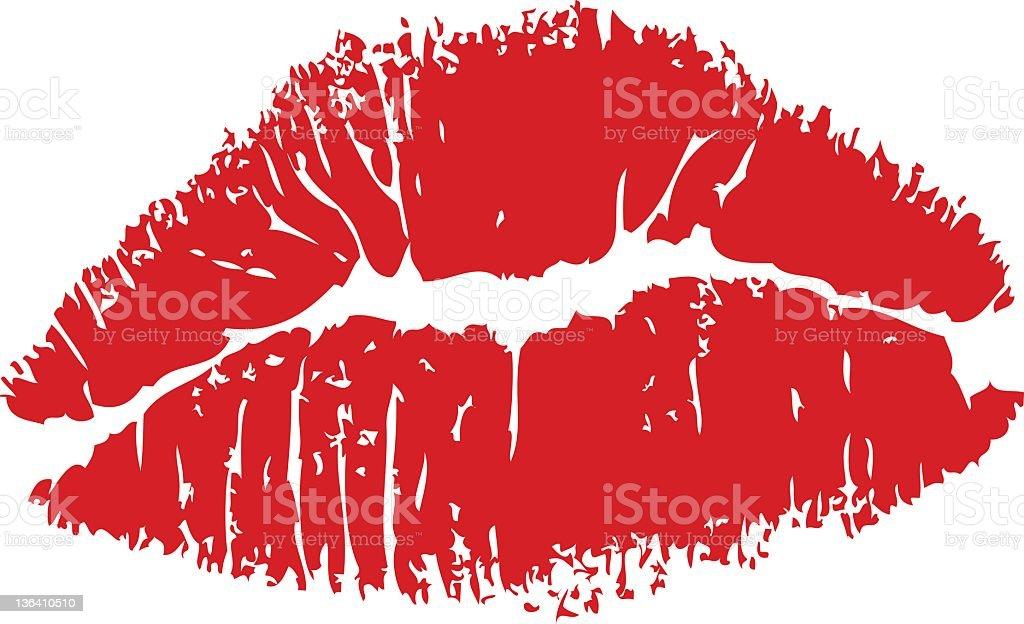 lipstick kiss clip art  vector images  u0026 illustrations