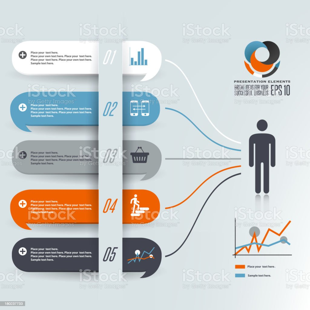 Illustration of speech bubbles royalty-free stock vector art