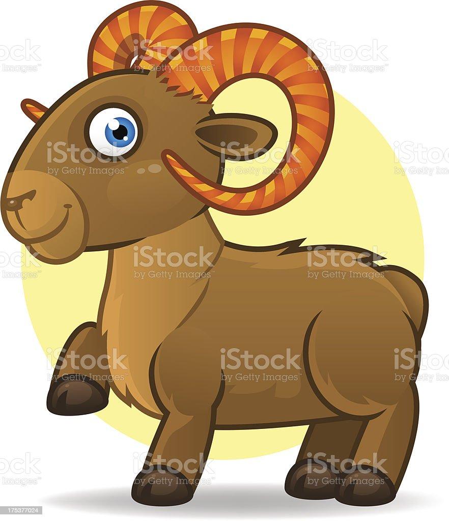 Illustration of Taurus astrological sign. Vector art. royalty-free stock vector art