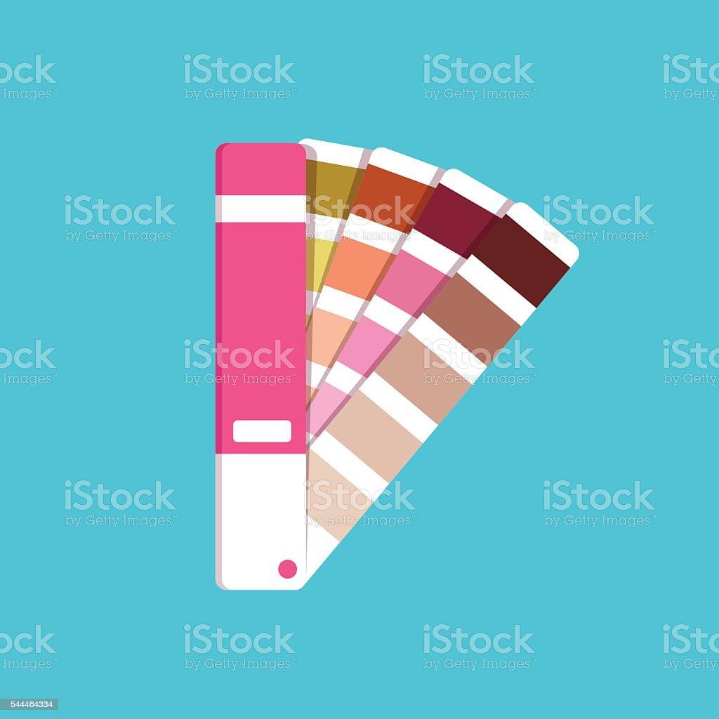 Illustration panton for design vector art illustration