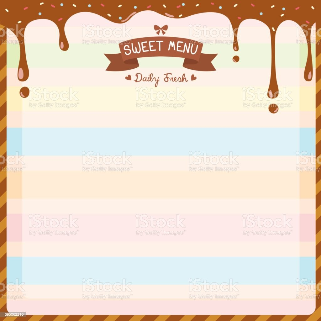 Fieldstation.co  Dessert Menu Template