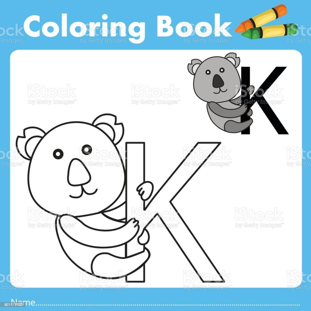 Book color illustrator - Illustrator Of Color Book K Royalty Free Stock Vector Art
