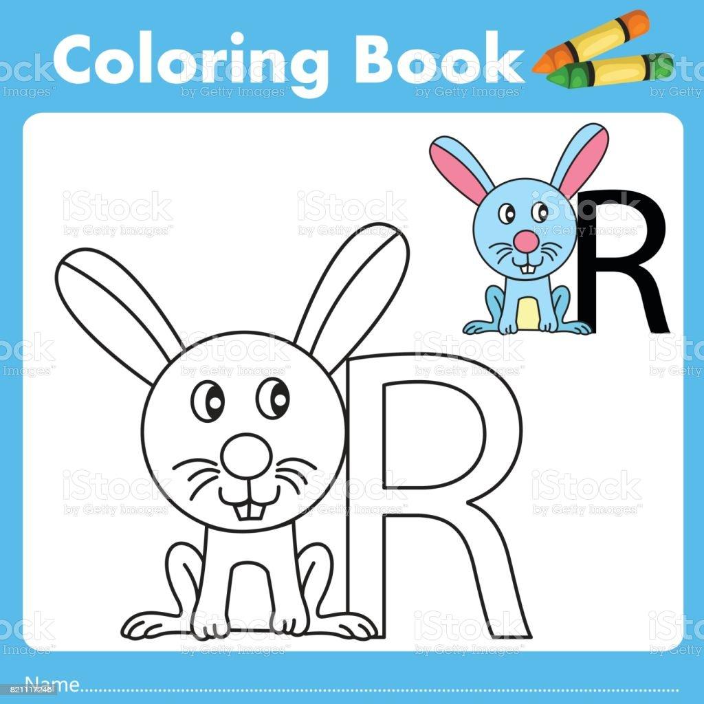Book color illustrator - Illustrator Of Color Book R Royalty Free Stock Vector Art