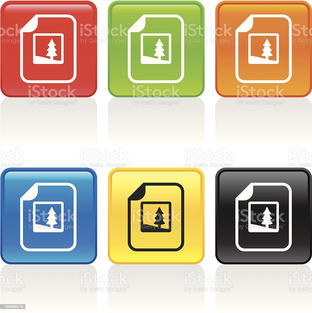 Image Document Icon royalty-free stock vector art