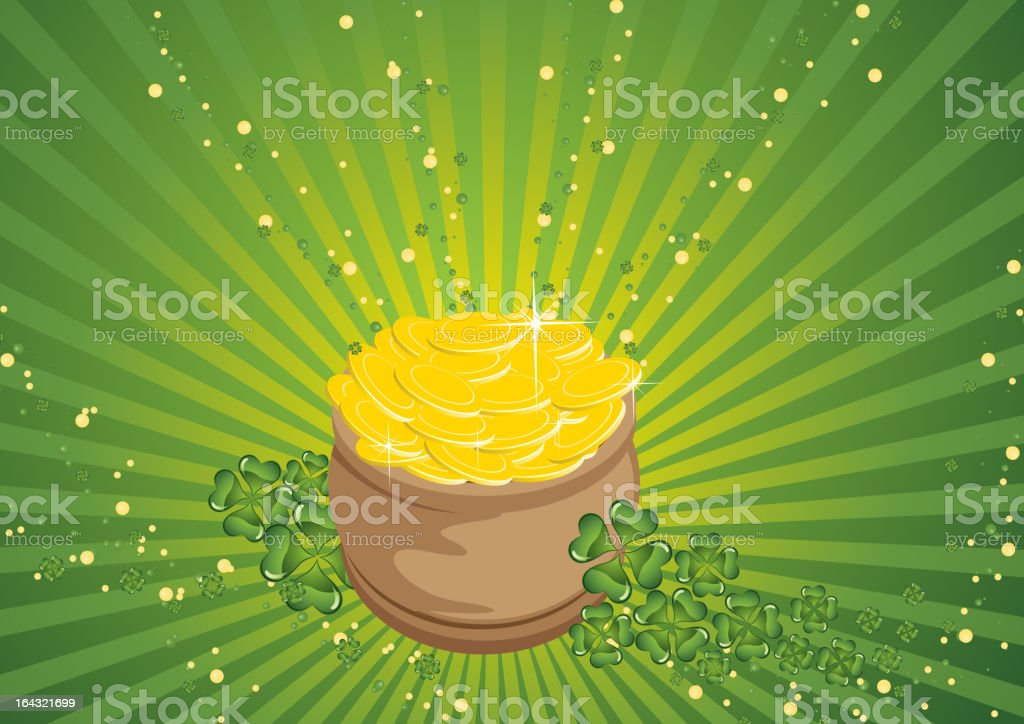 image of St. Patrick's royalty-free stock vector art