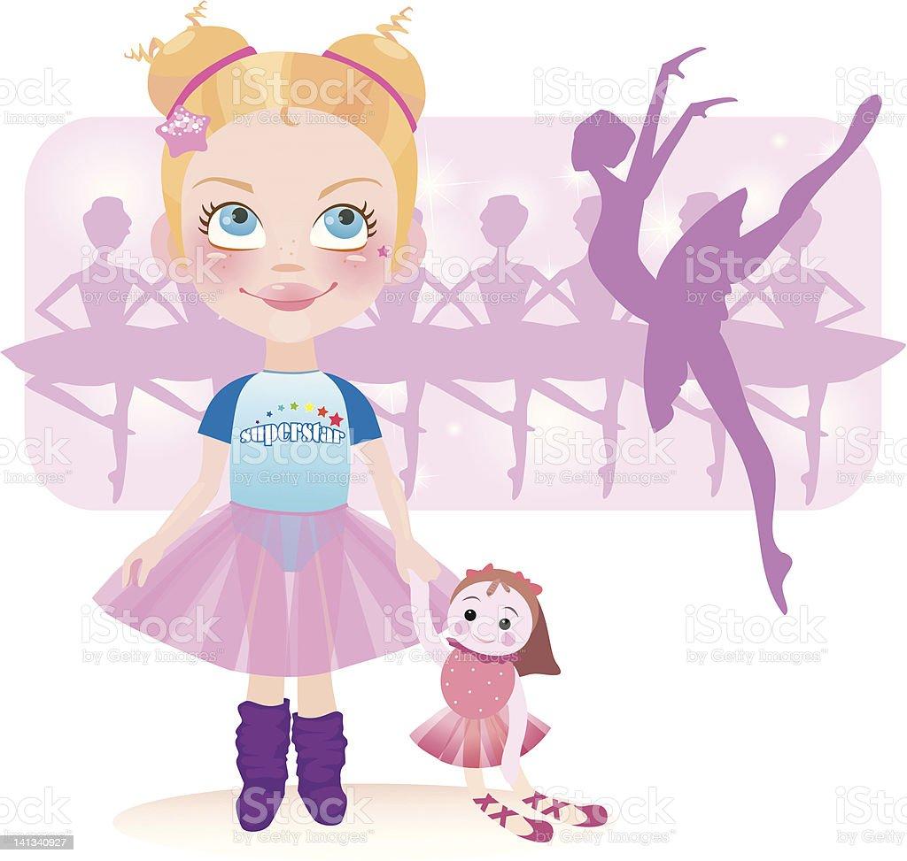 Imma be ballerina royalty-free stock photo