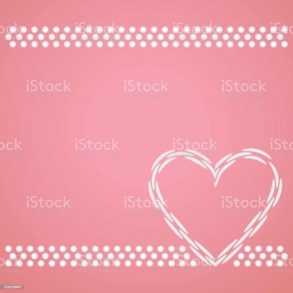 in love card vector art illustration