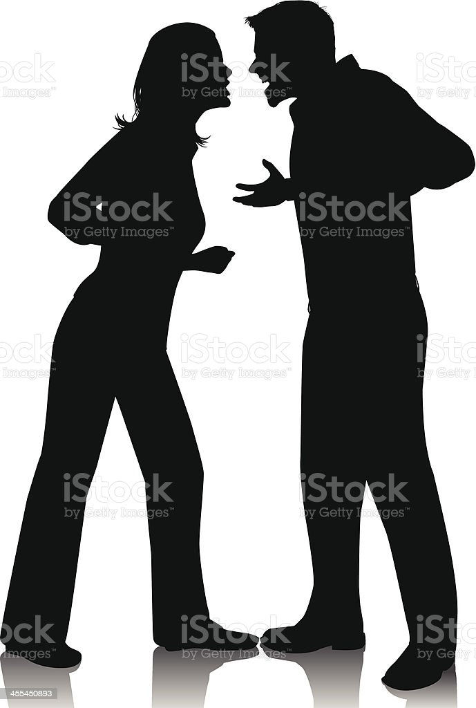 In Your Face royalty-free stock vector art