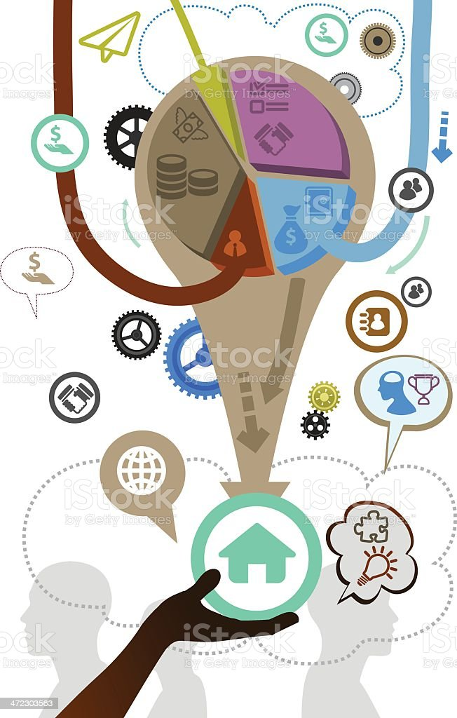 Income royalty-free stock vector art