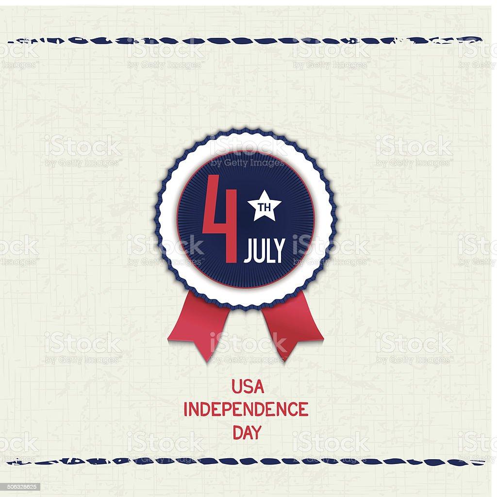 U.S. Independence Day vector art illustration