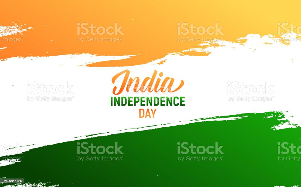 India Independence Day Flyer Card Poster Banner For India National