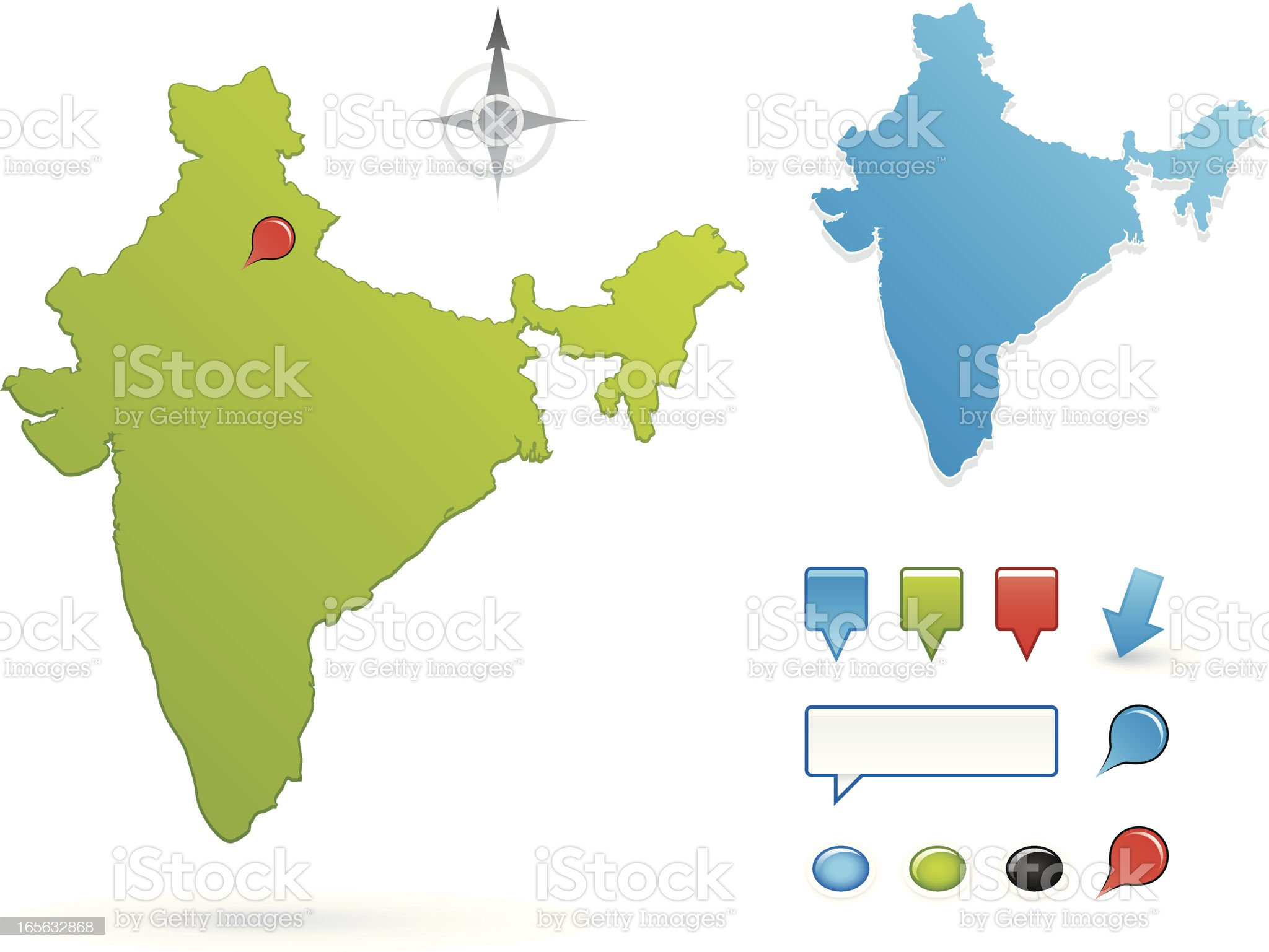 India royalty-free stock vector art