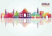India. Vector illustration
