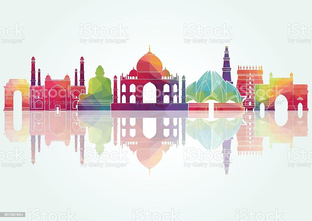 India. Vector illustration vector art illustration