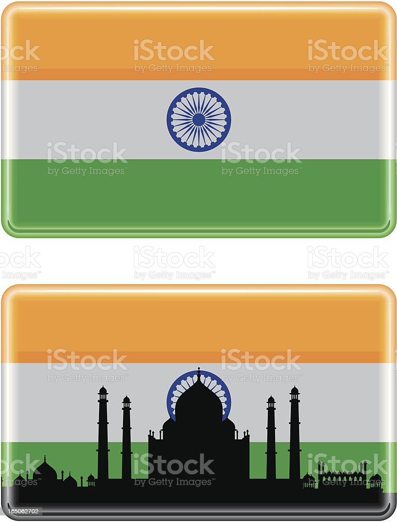 Indian Flag royalty-free stock vector art