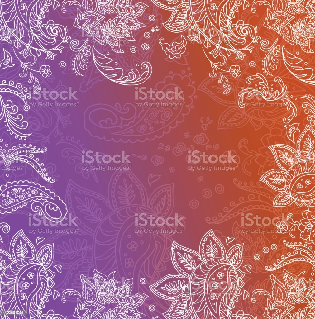Indian frame stock photo