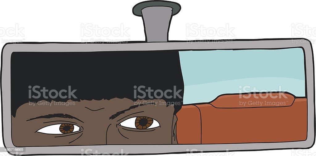 Indian Motorist vector art illustration