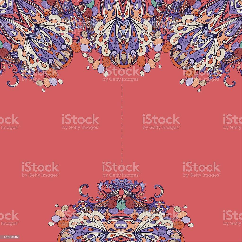 Indian summer 2 royalty-free stock vector art