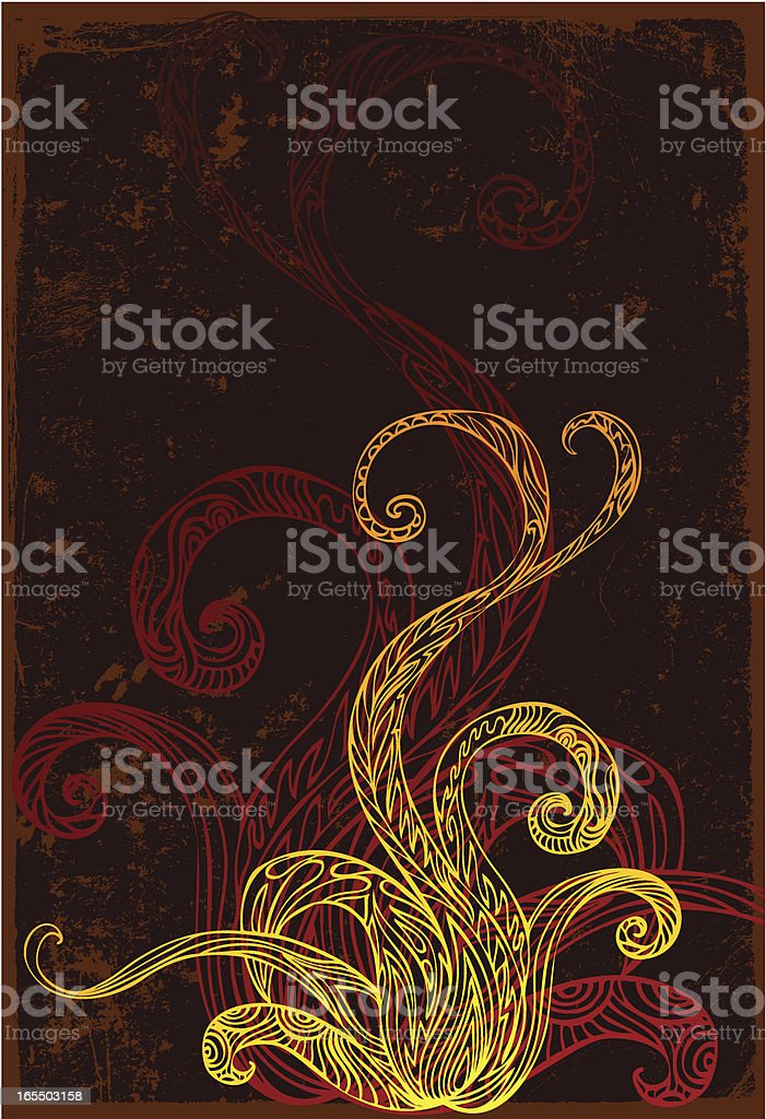 indigenous flower royalty-free stock vector art