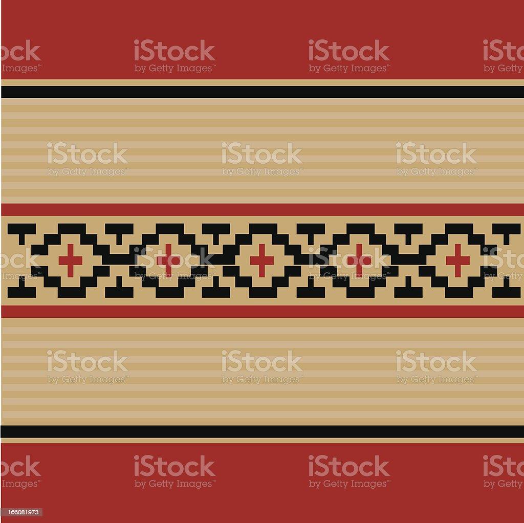 indigenous pattern vector art illustration