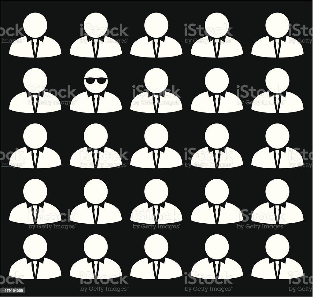 Individuality royalty-free stock vector art