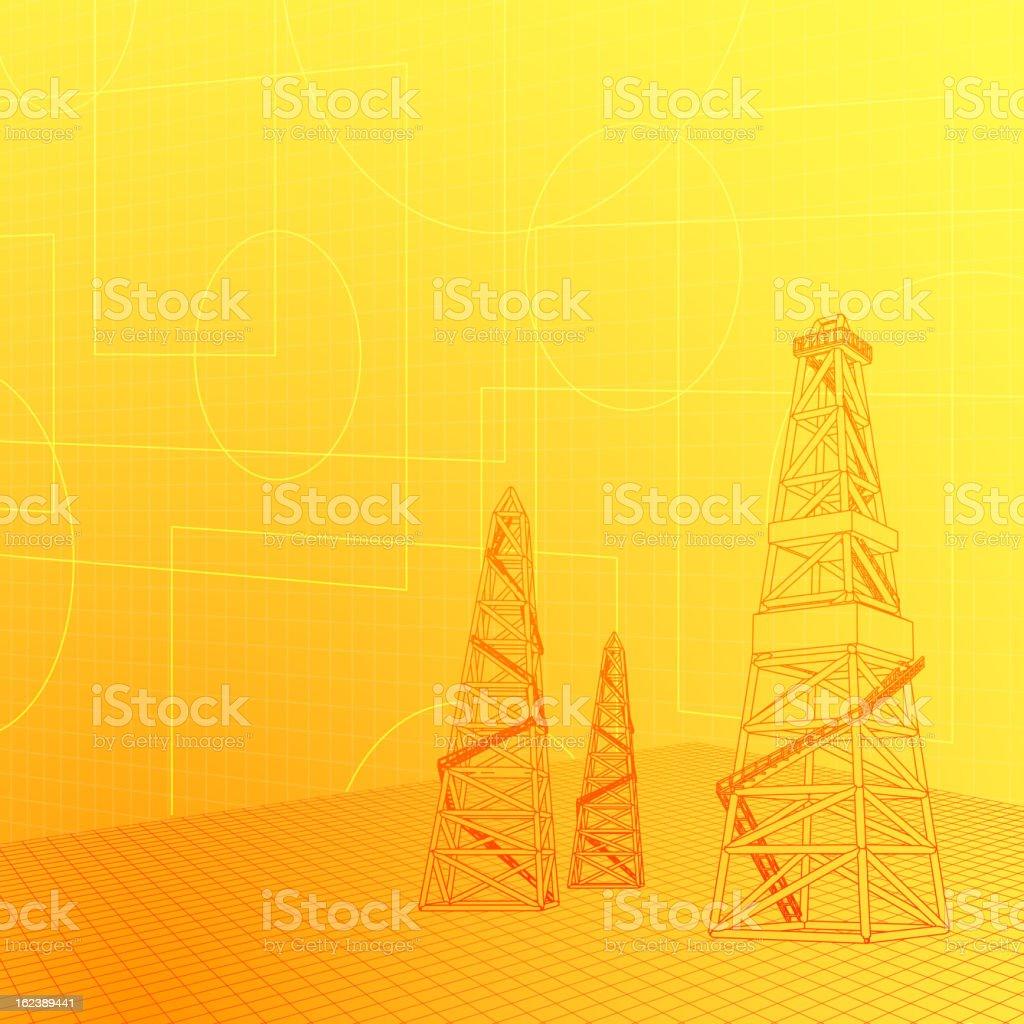 Industrial banner royalty-free stock vector art